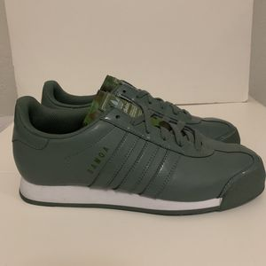 Adidas Originals Samoa 8 women's mint green with camo for Sale in San Francisco, CA