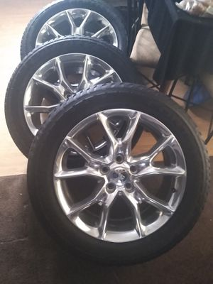 "20"" jeep Grand Cherokee wheels 99 up for Sale in Marysville, WA"