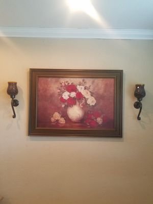 Kirkland's painting with frame for Sale in Pompano Beach, FL