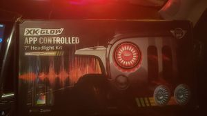 "7"" headlight kit app controlled xk glow for Sale in Las Vegas, NV"