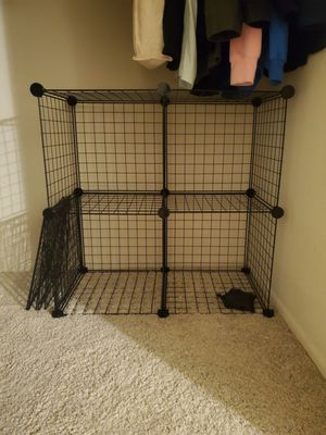 6 Cube Grid Wire Storahe Shelves for Sale in Anaheim, CA