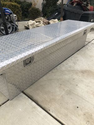 Uws tool box with keys, slim design for Sale in Bakersfield, CA