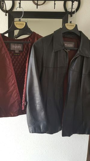 Ladies Wilson Leather coat for Sale in Thornton, CO