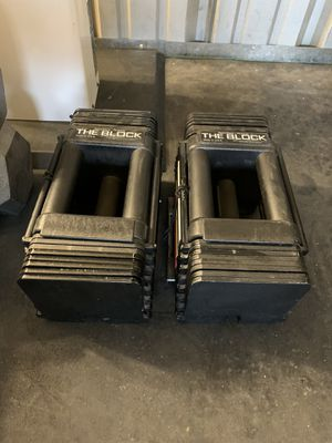 Powerblocks 5lbs-45lb for Sale in Parker, CO