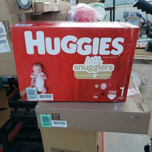 Huggies SIZE 1 Diapers 198 Count for Sale in Las Vegas, NV