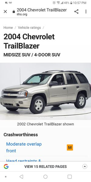 2004 Chevy Trail Blazer light blue 130000 miles runs great $2500 OBO please call Antonio @ {contact info removed} for Sale in Sheridan, CO
