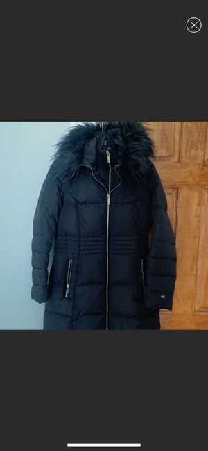 Tommy Hilfiger Long Parka size small for Sale in Brookline, MA