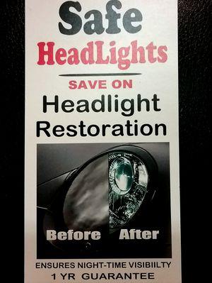 HEADLIGHT RESTORATION for Sale in Modesto, CA