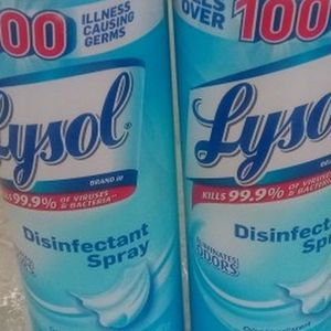 Lysol Spray , 2 Cans Plus Free Mask .. ($6.99 Each) Please Read for Sale in Lawrence, NY
