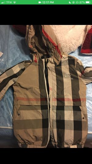 Burberry jacket for Sale in Fresno, CA