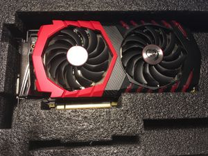 MSI Geforce GTX 1060 6GB for Sale in North Bend, WA