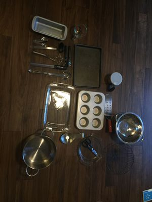 Kitchen essentials- stainless steel for Sale in Austin, TX
