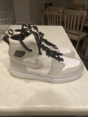 New Men's Air Jordan Retro 1 High React White/Gray Size 10 for Sale in Las Vegas, NV