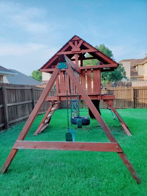 Sturdy play ground with various entertainment for Sale in Carrollton, TX