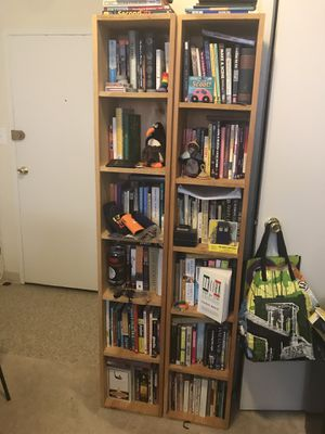 Homemade bookshelf set (2 tall bois and 1 small) for Sale in Washington, DC