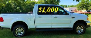 URGENT $1,000 I'm the first owner and i want to sell my 2002 Ford F-150 XLT for Sale in Fort Worth, TX