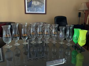 Hard rock cafe hurricane glasses. for Sale in San Diego, CA