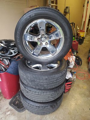 Dodge charger rims and tires for sale for Sale in Florissant, MO