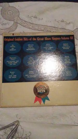 Vinyl Original Golden Hits of the great Blues Singers-Volume 3 for Sale in Camden, AL