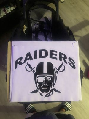 Raiders decal for Sale in San Diego, CA