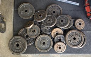 Standard Weights Set for Sale in Buena Park, CA