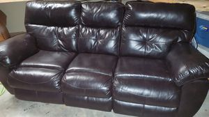 2 like new leather sofas for Sale in Pensacola, FL
