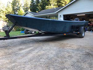 19 foot aluminum weld trailer for Sale in Battle Ground, WA