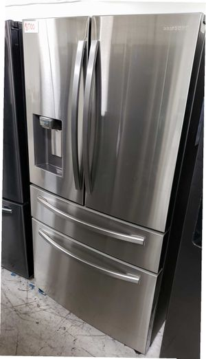 Samsung Fridge 23 cu. ft. 4-Door French Door Refrigerator Same day or next day delivery available for Sale in Stanton, CA