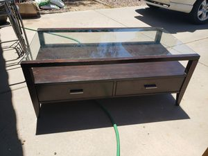 Glass top coffee table for Sale in Peoria, AZ