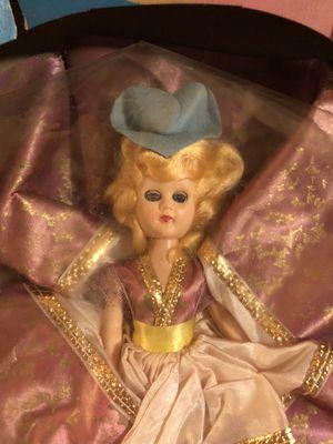 Vintage Antique Rare Doll Lucky Charmer Doll Blue Eyes Original Box (damaged Box for Sale in San Bernardino, CA