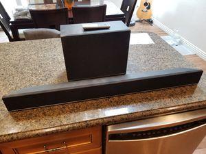 Vizio S3821W-CO Home Theater Sound Bar w/ Wireless Subwoofer 38-inch + remote for Sale in San Diego, CA