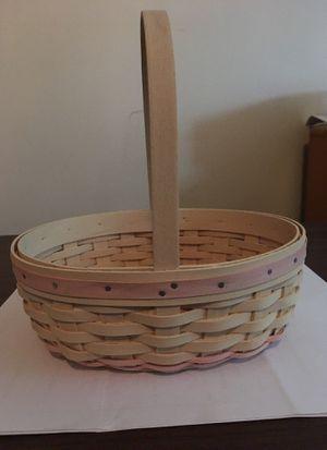 Longaberger basket -small Easter basket 2002 for Sale in Columbus, OH