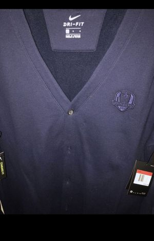 Nike golf navy blue cardigan size large retails at $100 for Sale in Las Vegas, NV
