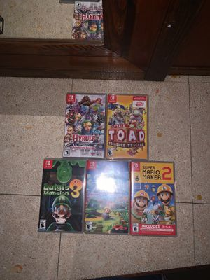 Nintendo Switch Games for Sale in Rosemead, CA