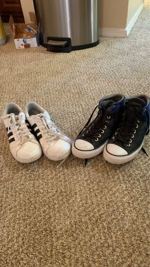 Beater Sneakers (Adidas Size 10 Mens, Converse Size 11 Mens) for Sale in Fort Worth, TX