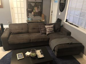 Sectional Couch with Left Arm Chaise for Sale in Miramar, FL
