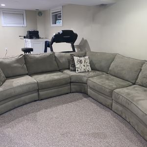 Green L-Shaped Couch for Sale in Orland Park, IL