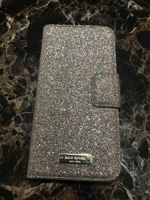 Kate Spade New York Glitter Wrap Folio IPhone 7/8 for Sale in Tempe, AZ