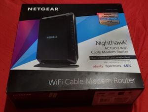 NETGEAR AC1900 Modem/Router Combo for Sale in Houston, TX
