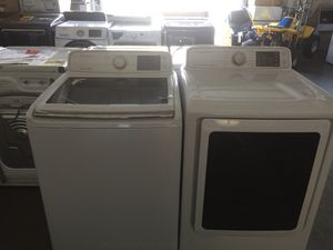 Samsung top load washer and electric dryer for Sale in San Luis Obispo, CA