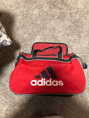 Red Adidas sm duffle for Sale in Denver, CO