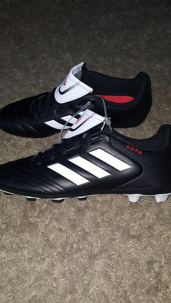 efe56e4cf Adidas Copa 17.4 FXG Boys Youth Cleats (Black) Size  5