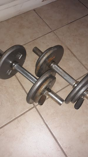 pair of cap barbell weights for Sale in Houston, TX