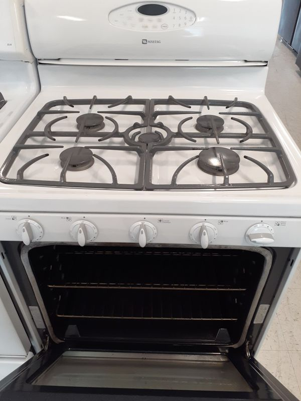 Maytag gas stove in good condition with 90 day's warranty