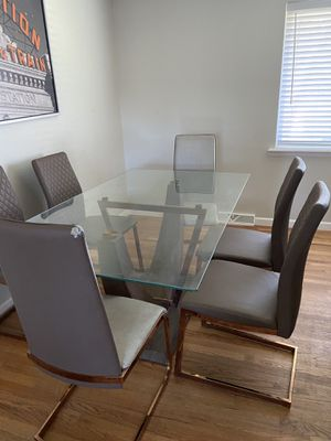 dining table and matching center table for Sale in Denver, CO