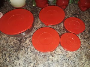 5 set of glass storage containers for Sale in Maricopa, AZ