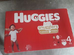Huggies diapers size 4 for Sale in Colma, CA