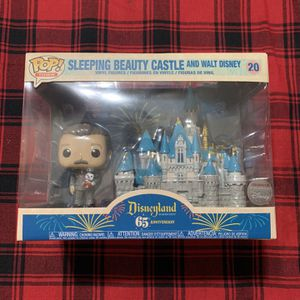 Funko Pop Sleeping Beauty's Castle With Walt Disney 20 Sold Out for Sale in Escondido, CA