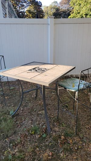 Patio table and chairs for Sale in Milford, CT