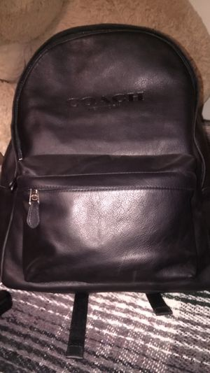 Black coach back pack for Sale in La Habra, CA